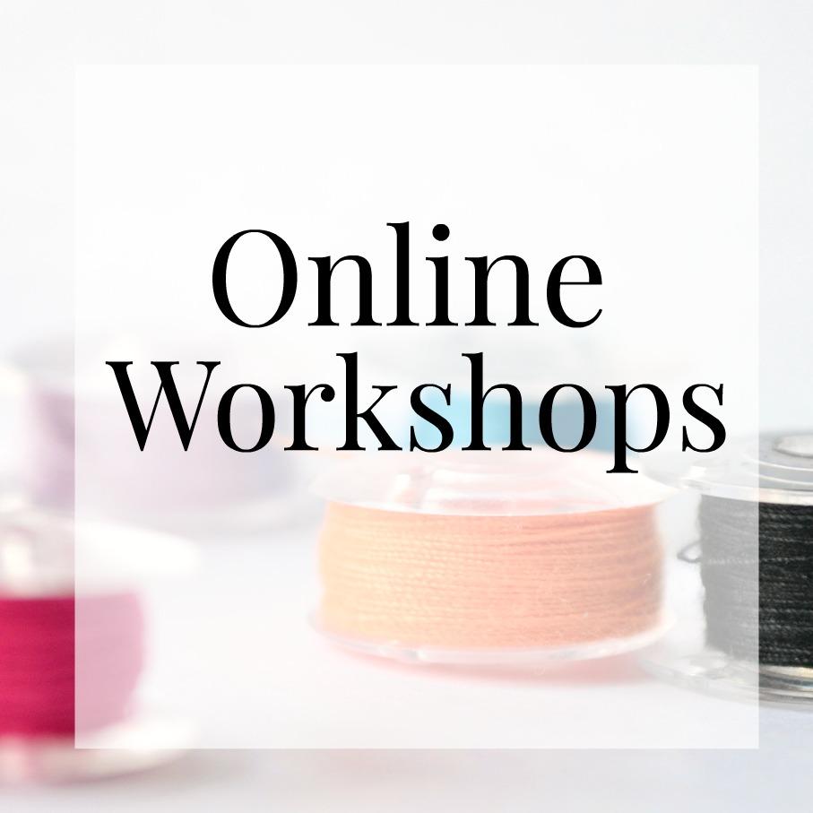 online workshops button