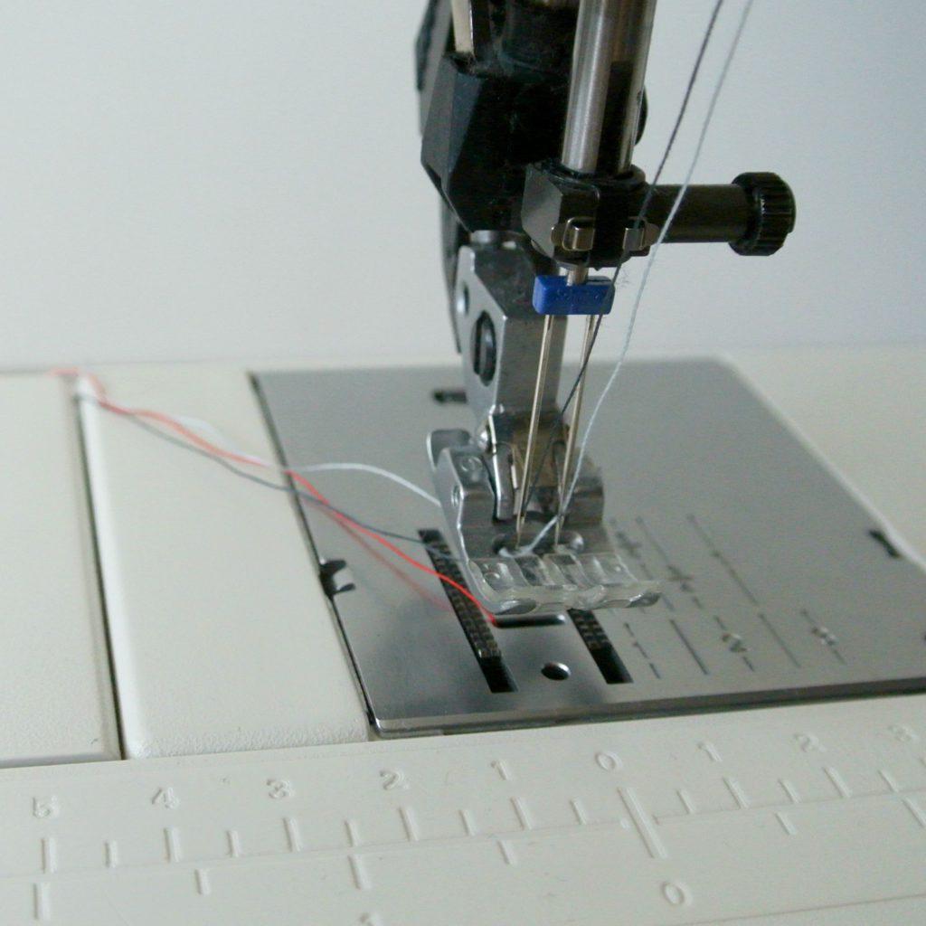 tips voor naaien met een tweelingnaald