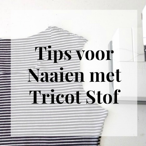 tricot stof tips vierkant
