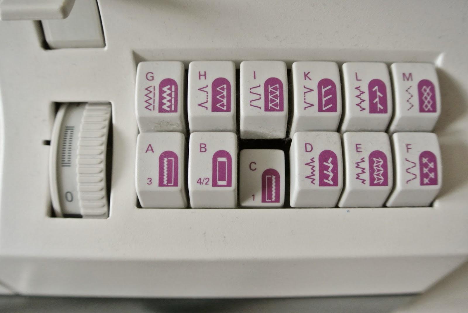naaimachine instellen voor knoopsgaten
