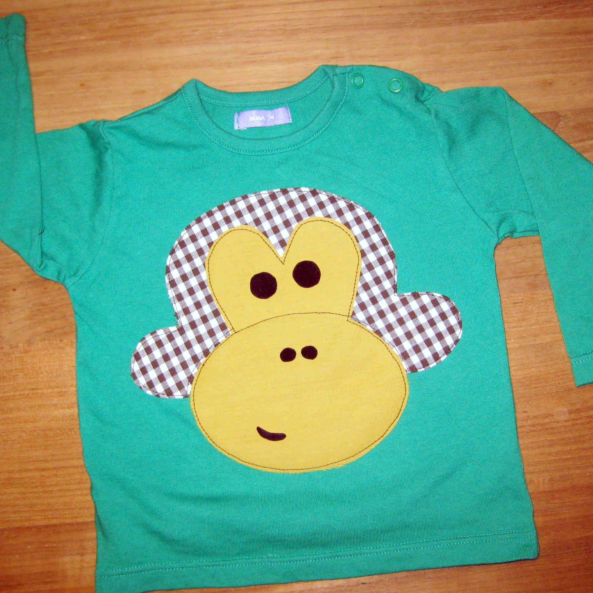 apen t-shirt
