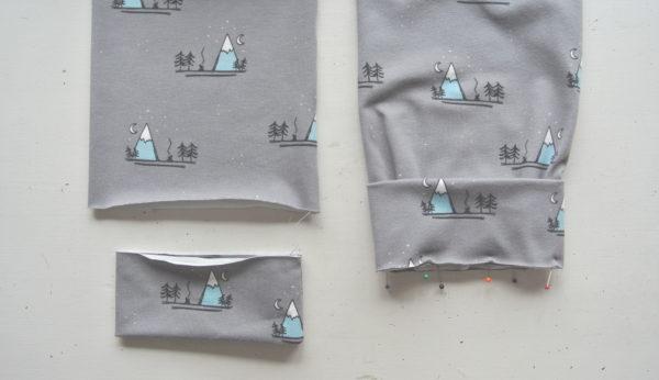 Een pyjamabroek netjes afwerken