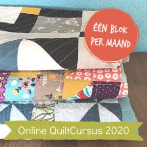 leer je eigen quilt naaien via online naailessen