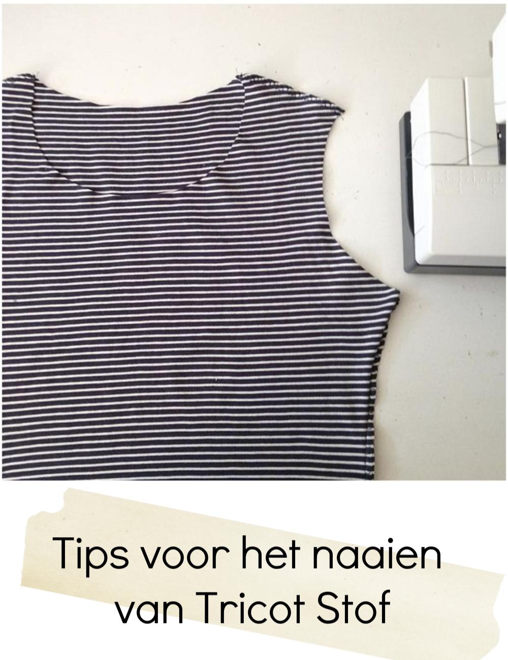 Tutorial tips voor tricot