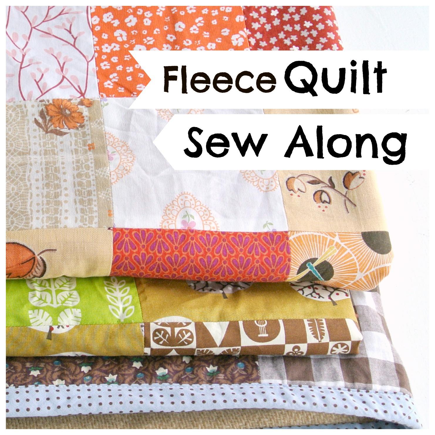 Fleece Quilt SewAlong Logo