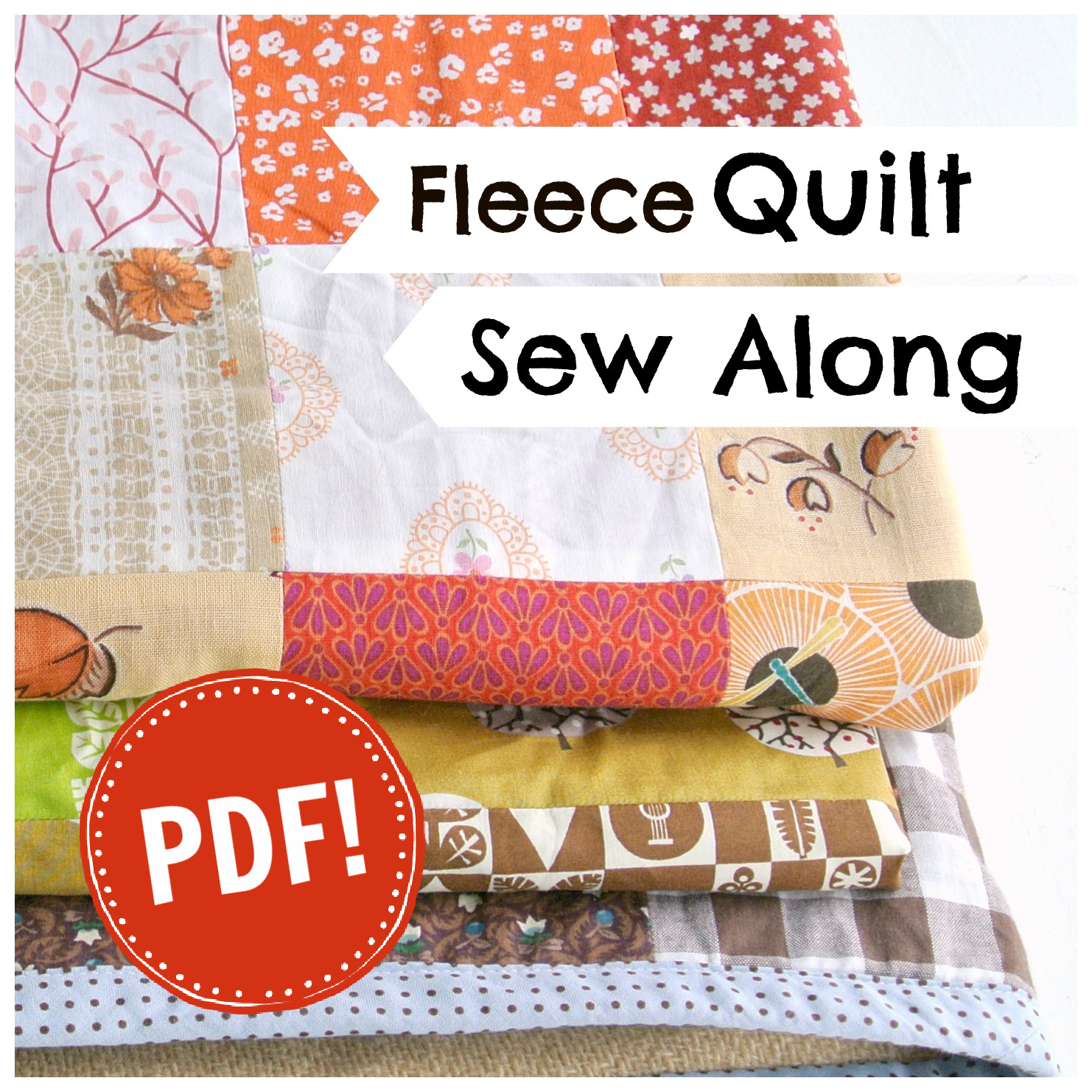 Fleece Quilt SewAlong PDF