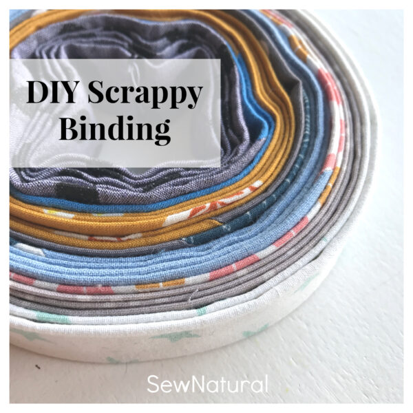 diy scrappy binding