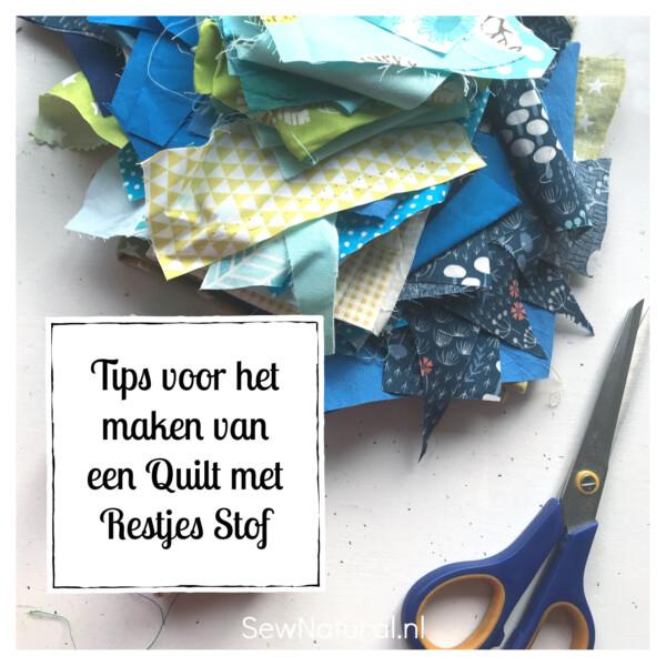 Tips maak een quilt van stofrestjes