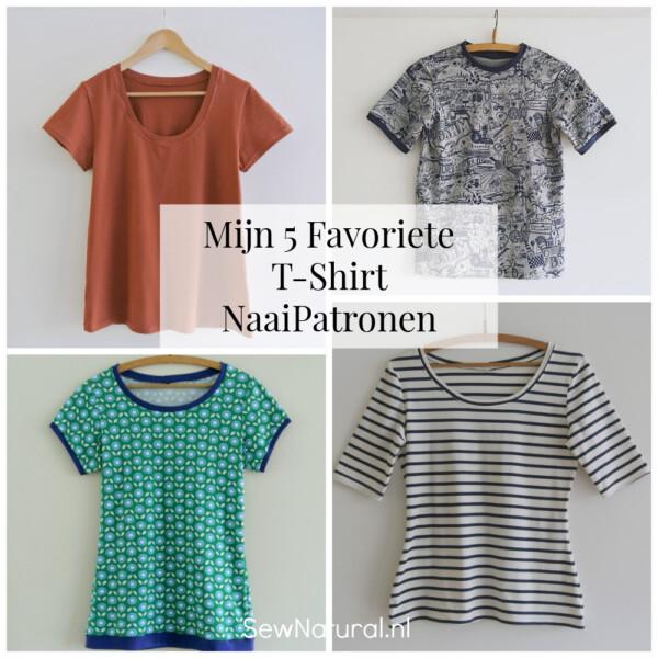 Favoriete T-Shirt NaaiPatronen