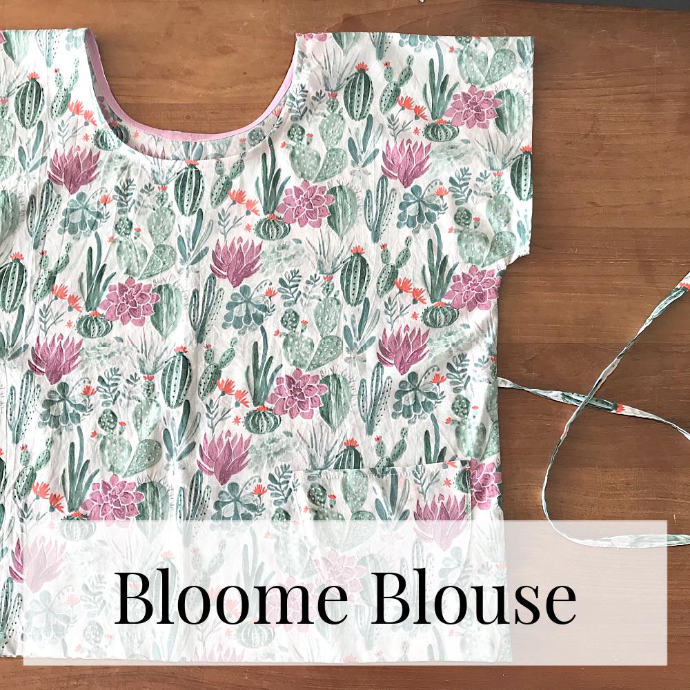 bloome blouse naaipatroon