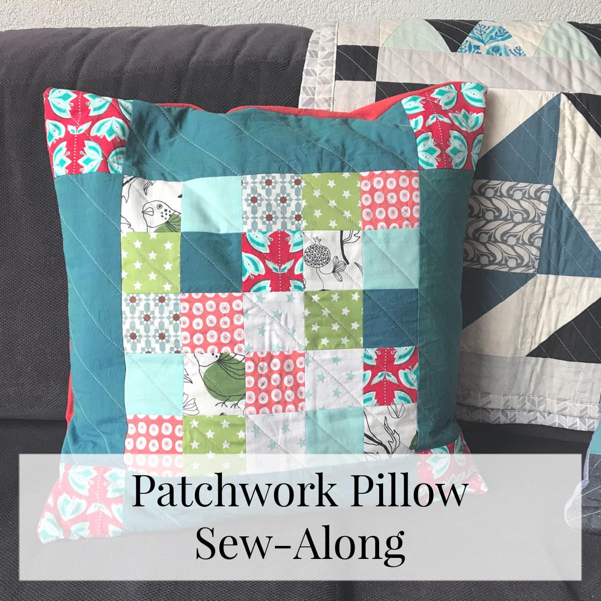 patchwork pillow sew-along titel