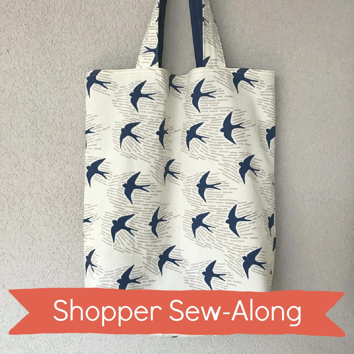 keerbare shopper Sew-Along
