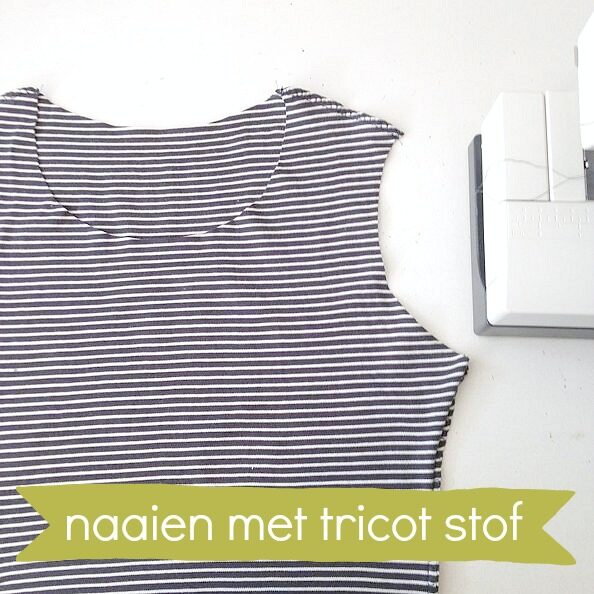 naaien met tricot workshop